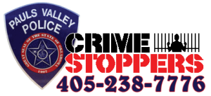 PVPD Crime Stoppers - Call 405-238-7776